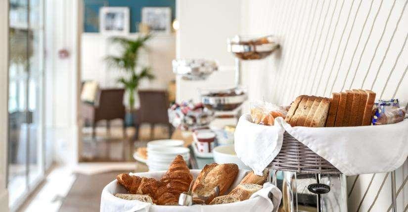 Hôtel Passy Eiffel - 朝食ブッフェ