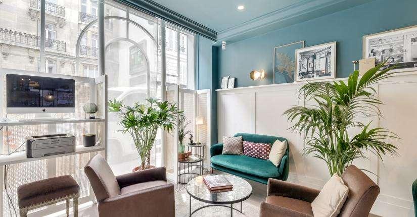 Hotel Passy Eiffel - lounge